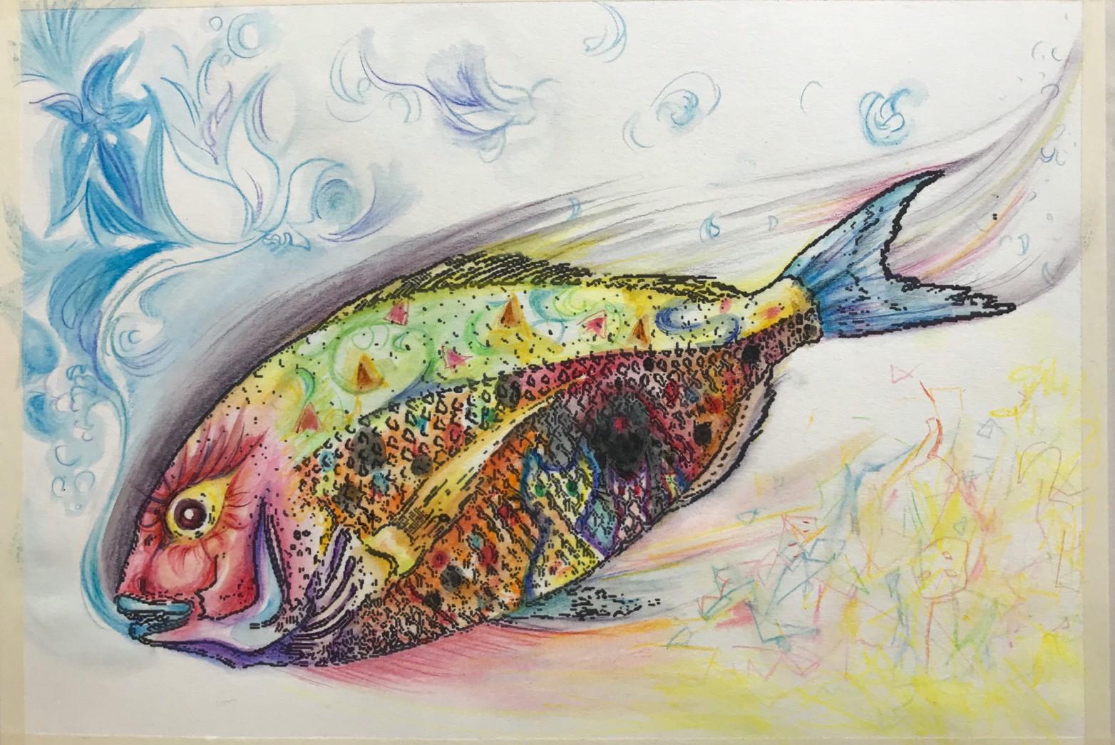 【絵画教室】ハートでアートにアタック第二弾