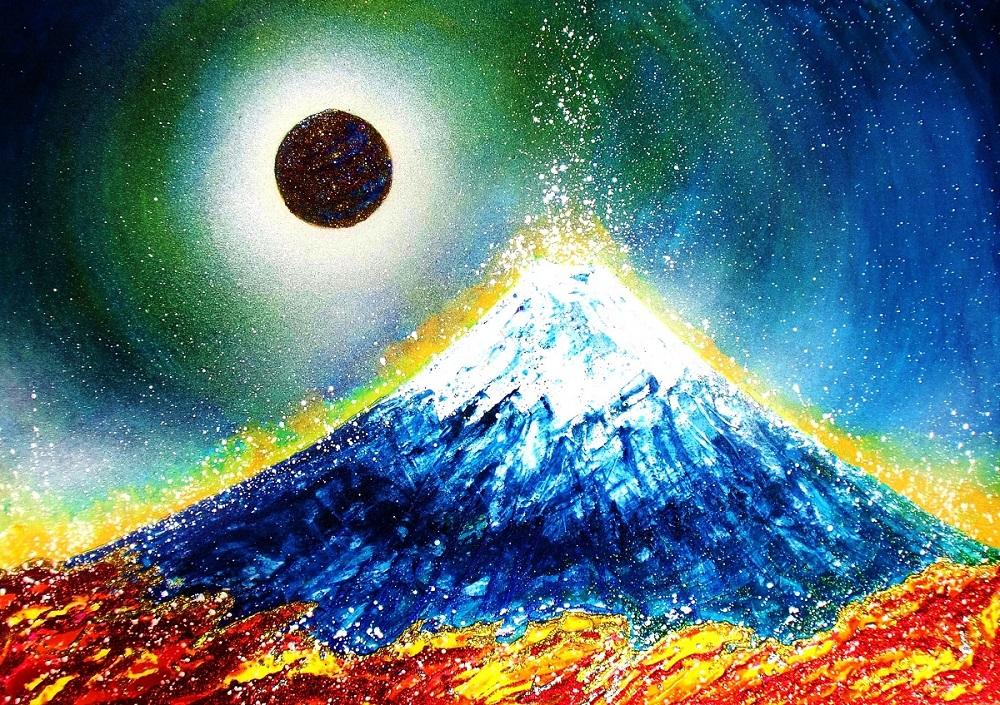 龍神~Mt. Fuji and Planet~